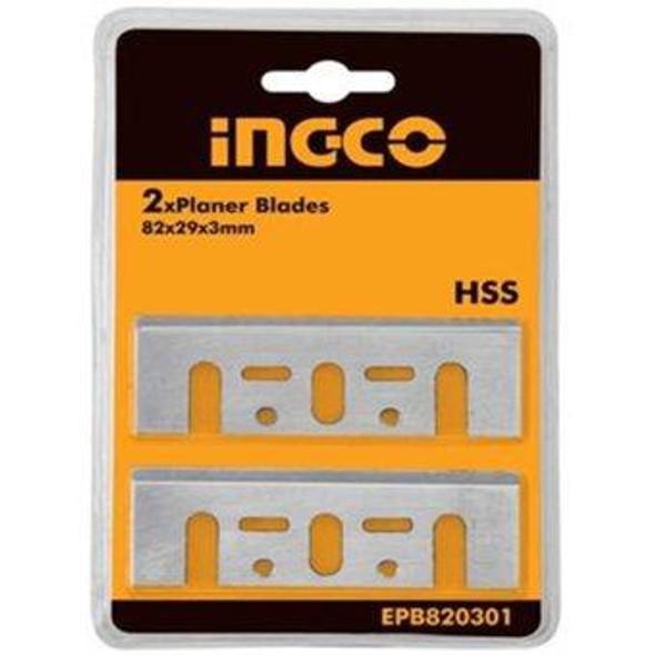 PLANE BLADE INGCO 82X29X3MM 2PCS EPB820301