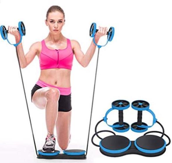 Gym Ab roller Multi functional Kazolen Pink