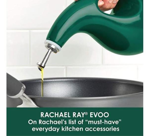Oil Dispenser Bottle Rachael Ray 24oz Glaze Ceramics