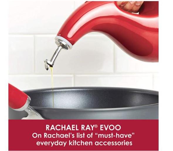 Oil Dispenser Bottle Set Rachael Ray  24oz & 13oz Ceramic