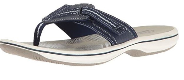 Footwear Clarks Women's Brinkley Jazz Flip Flop