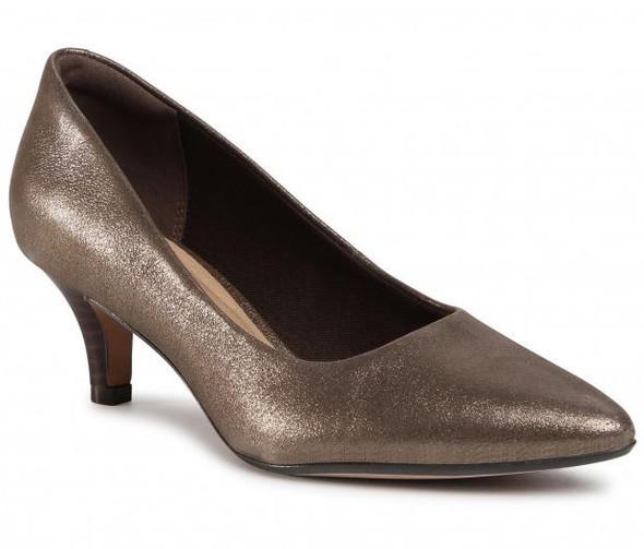 Footwear Clarks Women's Linvale Jerica Pump Metallic