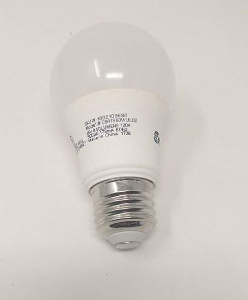 BULB SCREW LED ECOSMART 9W 1002 109 690 1001 718 979 110V A19 SOLD EACH