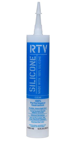 SILICONE WHITE LIGHTNING RTV 100% CLEAR 10 OZ WL099110C