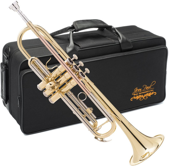 TRUMPET JEAN PAUL TR-430 WITH CASE (ROSE BRASS)