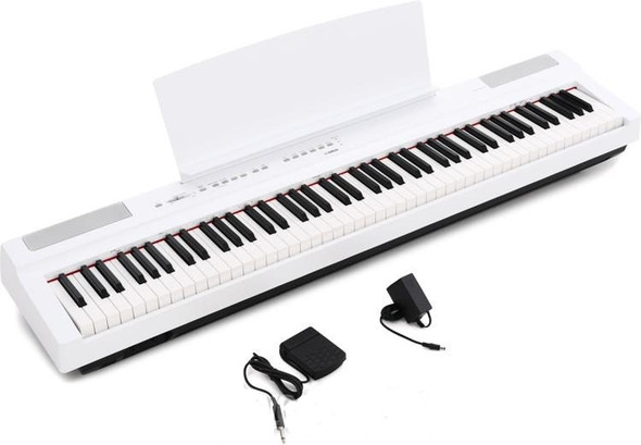 KEY BOARD YAMAHA P-125WH 88 KEY DIGITAL PIANO WHITE