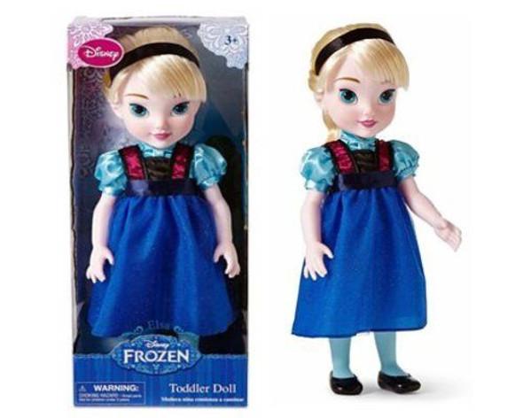 "Toy Disney Princess Frozen Elsa Toddler Doll 16"""