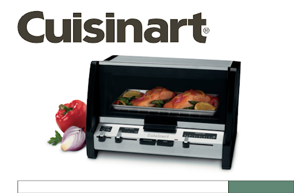 TOASTER OVEN CUISINART RTO-20C 110 WITH BROILER
