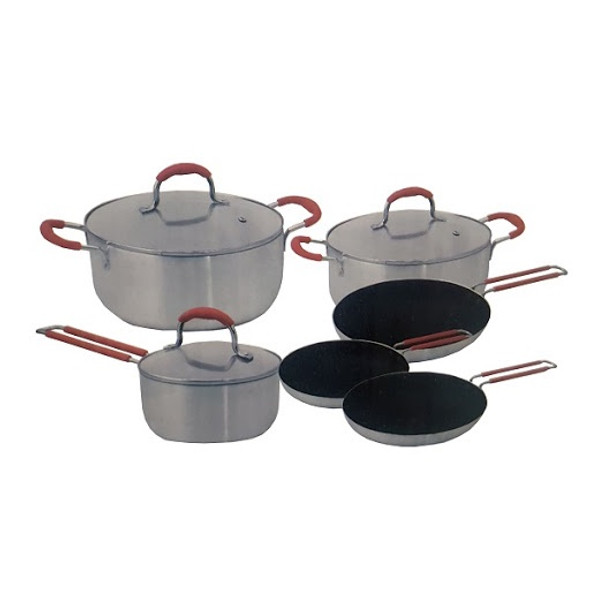 POT SET 9PCS SANKEY W-997SS COOKWARE SET