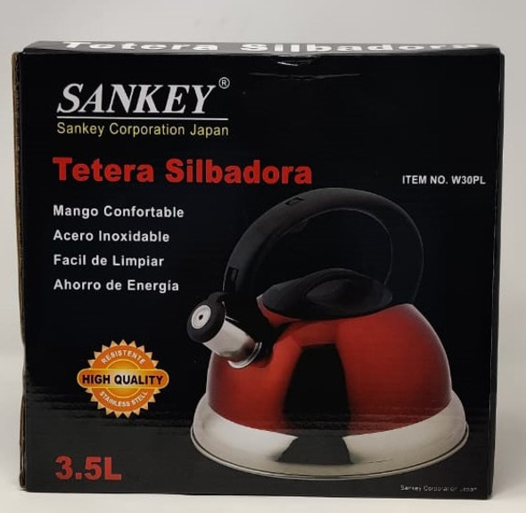 KETTLE SANKEY W30PL 3.5L NON ELECTRIC