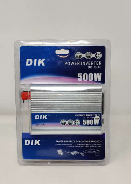 INVERTER DIK 500W 12V-110V