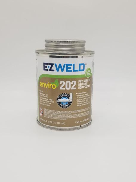 PVC PASTE CEMENT E-Z WELD 1/2PT 8OZ/237ML REGULAR