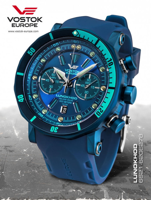 Vostok Europe Lunokhod 2 Grand Chrono 6S21/620E278