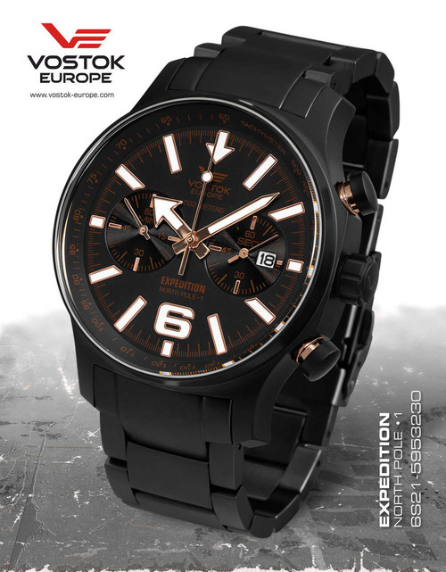 Vostok-Europe Expedition North Pole 1  6S21/5953230B