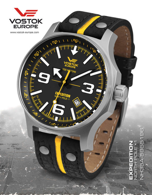 Vostok-Europe Expedition North Pole-1 (NH35A/5955196) 1 Strap