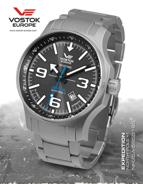 Vostok-Europe Expedition North Pole - 1 Watch NH35A/5955195B