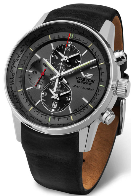 Vostok-Europe GAZ-Limo All Timer Watch YM26-565A291