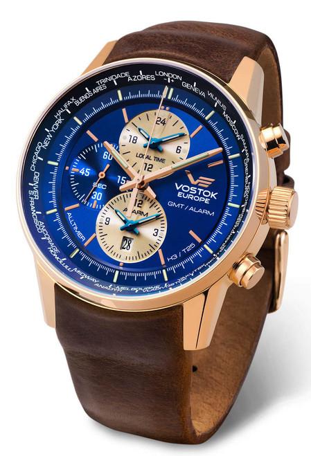 Vostok-Europe GAZ-Limo All Timer Watch YM26-565B293