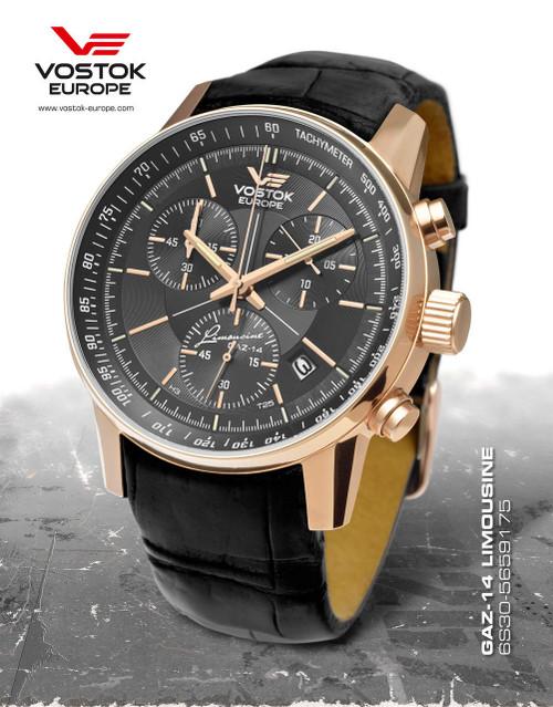 Vostok-Europe Gaz-Limo Quartz Chronograph 6S30/5659175