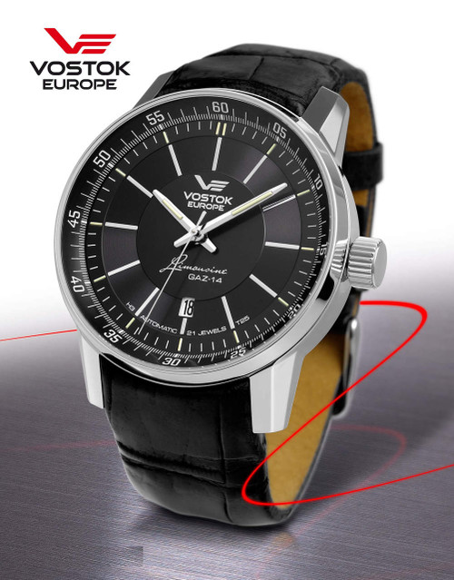 Vostok-Europe GAZ-Limo Watch NH35A/5651137