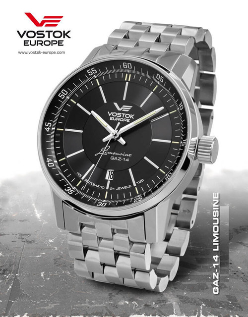 Vostok-Europe GAZ-Limo Watch NH35A/5651137B