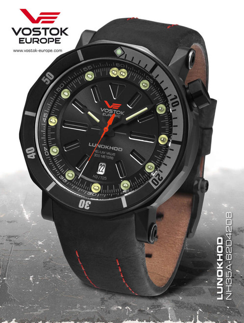 Vostok-Europe Lunokhod 2 Automatic Tritium Tube Watch NH35A/6204208