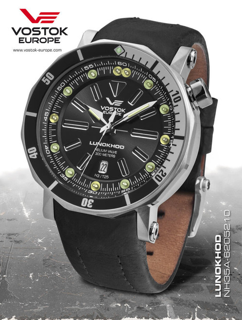 Vostok-Europe Lunokhod 2 Automatic Tritium Tube Watch NH35A/6205210