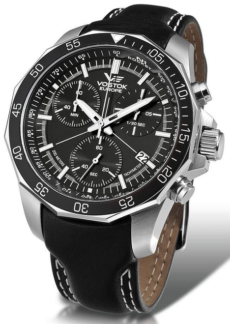 Vostok-Europe N1 Rocket Chronograph Watch 6S30/2255177