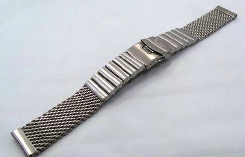 Vostok Europe Almaz Bracelet 22mm Mesh Black PVD Stainless Steel-Alm.22.B.B