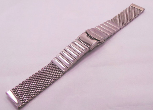 Vostok Europe Almaz Bracelet 22mm Mesh Polished Stainless Steel-Alm.22.B.S