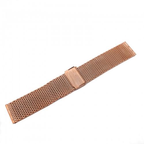Vostok Europe Almaz Bracelet 22mm Mesh Rose Gold-Alm.22.B.R