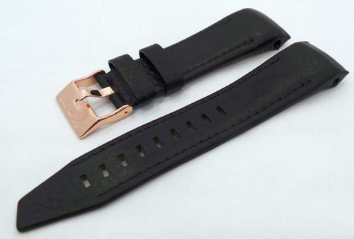 Vostok Europe Mriya Leather Strap 24mm Black-Mry.24.L.R.Bk