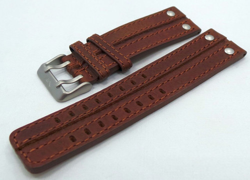 Vostok Europe Expedition North Pole Leather Strap 24mm Brown-Exp.24.L.M.Br