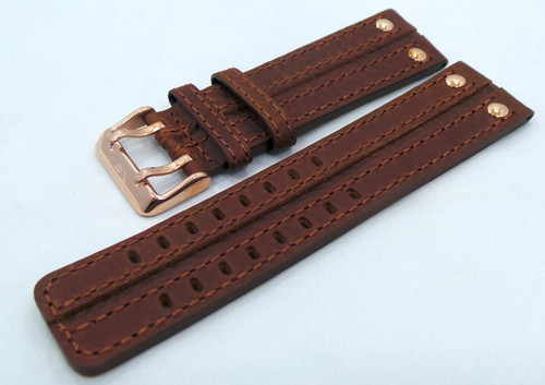 Vostok Europe Expedition North Pole Leather Strap 24mm Brown-Exp.24.L.R.Br