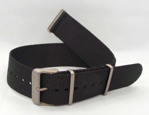 Vostok Europe Expedition North Pole NATO Ballistic Nylon Strap 24mm Black-Exp.24.N.M.Bk