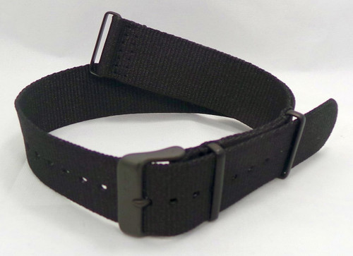 Vostok Europe N1 Rocket Radio Room NATO Ballistic Nylon Strap 22mm Black-N1RR.22.N.B.Bk