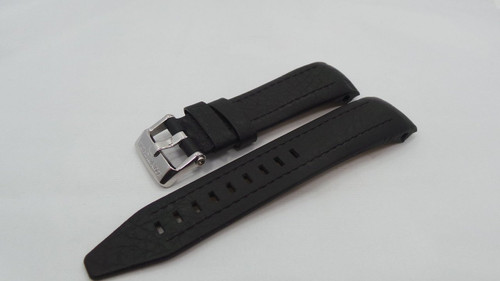 Vostok Europe Lunokhod Leather Strap 25mm Black-Lun.25.L.S.Bk