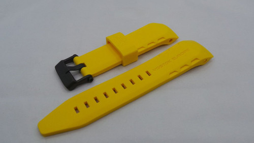 Vostok Europe Lunokhod Silicon Strap 25mm Yellow-Lun.25.S.B.Y
