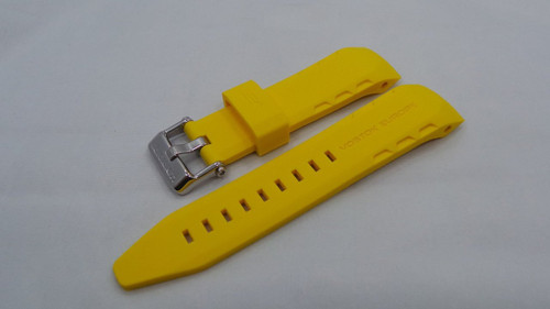 Vostok Europe Lunokhod Silicon Strap 25mm Yellow-Lun.25.S.S.Y