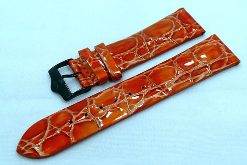 Vostok Europe Ladies N1 Leather Strap 20mm Orange-Lad.20.L.B.O