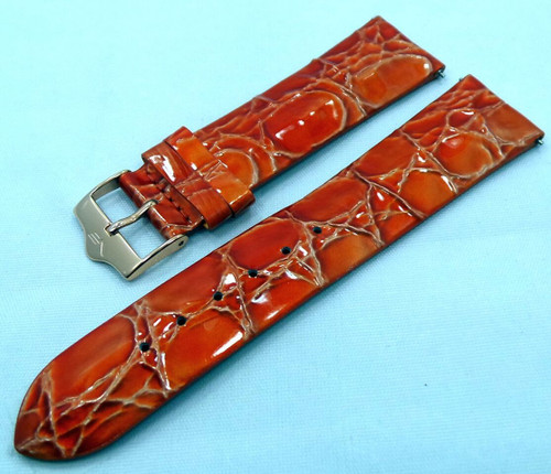 Vostok Europe Ladies N1 Leather Strap 20mm Orange-Lad.20.L.R.O
