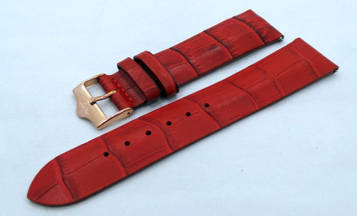 Vostok Europe Ladies N1 Leather Strap 20mm Red-Lad.20.L.R.R-Matte
