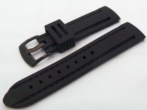 Moscow Classic Silicon Strap 22mm Black-MC.22.S.B.Bk