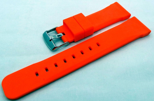 Moscow Classic Silicon Strap 22mm Orange-MC.22.S.S.O