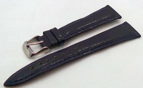 Poljot Leather Strap 20mm Blue-Pol.20.L.S.Bu.002