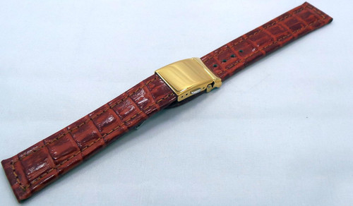 Poljot Leather Strap 20mm Brown-Pol.20.L.R.Br.001