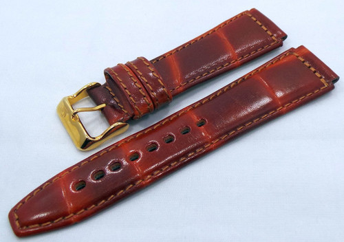 Poljot Leather Strap 20mm Brown-Pol.20.L.R.Br.002