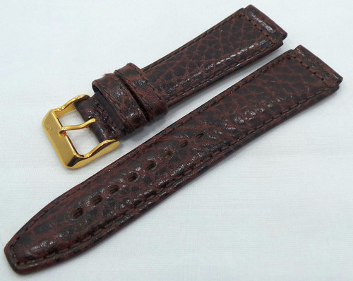 Poljot Leather Strap 20mm Brown-Pol.20.L.R.Br.004