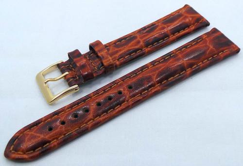 Poljot Leather Strap 20mm Brown-Pol.20.L.R.Br.005