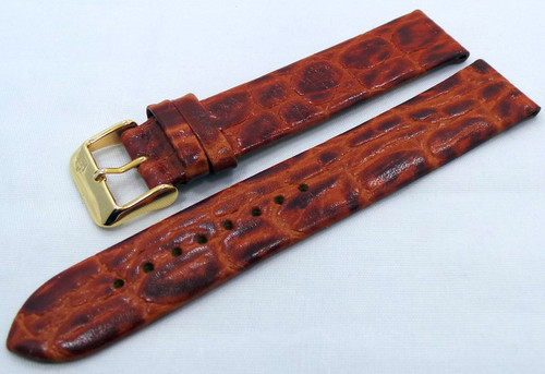 Poljot Leather Strap 20mm Brown-Pol.20.L.R.Br.006